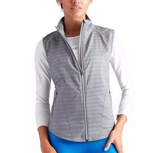 Athleta Stripe Jammin Run Vest